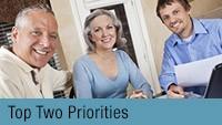 Top Two Priorities