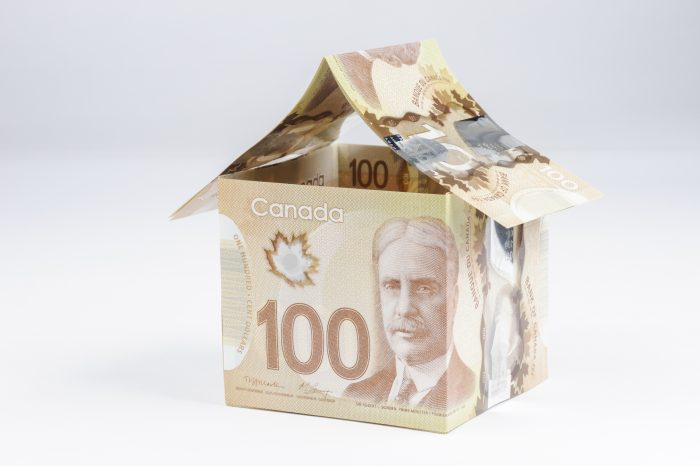 House made from Canadian polymer $100 dollar bills.Related Images: