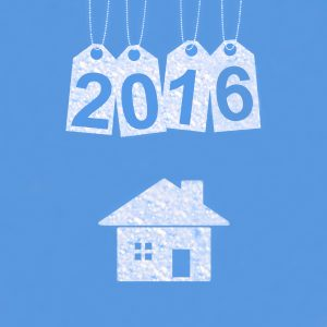 New year on the clouds, 2016