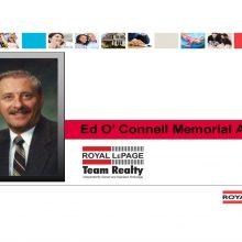 Ed O'Connell Memorial Award