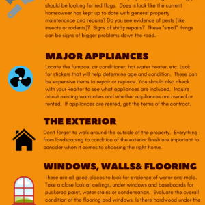 What Home Buyers Should be Looking for When Viewing a Property