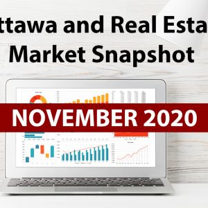 Ottawa and Real Estate Market Snapshot November 2020