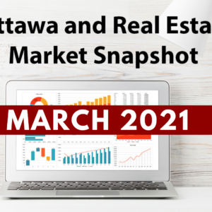 Ottawa and Real Estate Market Snapshot March 2021