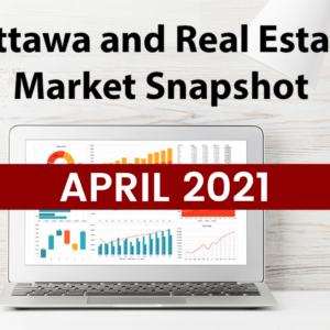 Ottawa and Real Estate Market Snapshot April 2021