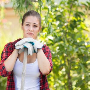 Not happy about raking