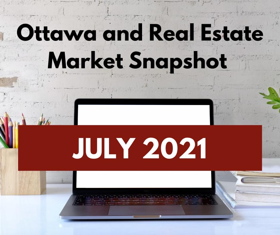July 2021 Real Estate Market Snapshot