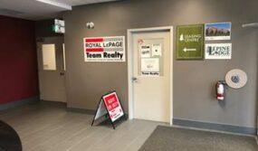 Team Realty Office Foyer
