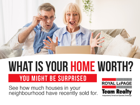What is your home worth - you might be surprised