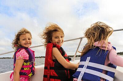 Photo of Kids Boating In Manotick